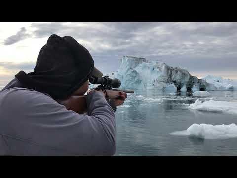 Seal hunter Ole Kristiansen in Ilulissat, Greenland