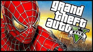 SPIDERMAN IN GTA 5 !