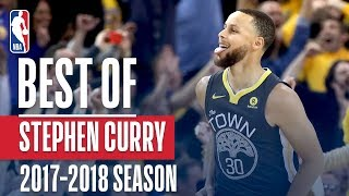 Stephen Curry's Best Plays of the 2017-2018 NBA Season! - Video Youtube