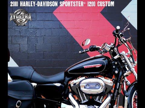 2010 Harley-Davidson Sportster® 1200 Custom in Ames, Iowa - Video 1