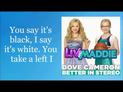 Dove Cameron - Better In Stereo (Lyric Video)
