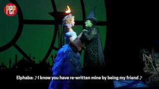 For Good from Wicked in Manila 2017