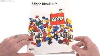 A look through a LEGO Idea Book from 1985