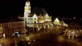 preview picture of video 'DJI Phantom Pécs Széchenyi tér madártávlatból. Hungary, Pécs, Széchenyi square bird's eye wiev'