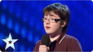 Jack Carroll with his own comedy style - Week 1 Auditions | Britain