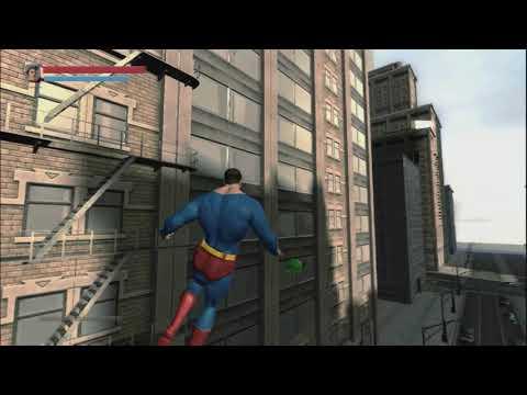 Blue Steel - 2008 Superman Gameplay Prototype