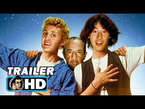 BILL & TED'S EXCELLENT ADVENTURE 4K Trailer (2020) Keanu Reeves