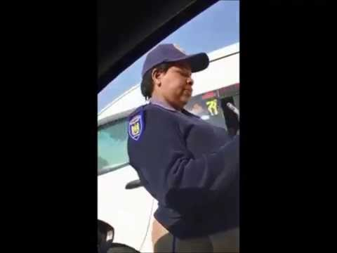 South African Traffic Police Stop A Guy, Watch What Happens Mp3