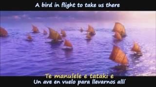 We Know The Way - Lin-Manuel Miranda & Te Vaka (Ingles/Español/Tokelauan)