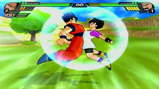 Mr. Satan  - (Dragon Ball) - Gohan & Videl Fusion | Kid Pan vs Mr Satan Dragon Ball Z Budokai Tenkaichi 3 (MOD)