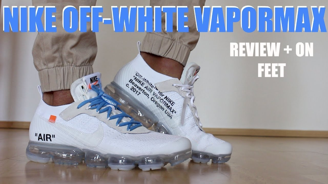 50b45723f25 Video NIKE OFF WHITE VAPORMAX 2018 WHITE REVIEW + ON FEET