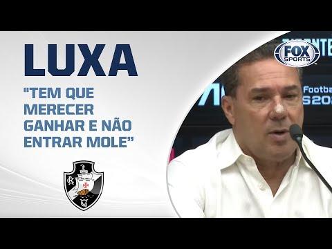 VASCO AO VIVO! Luxemburgo fala após derrota para o São Paulo