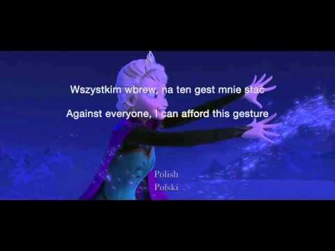 Let It Go (25 Languages) - Subtitles + Translation