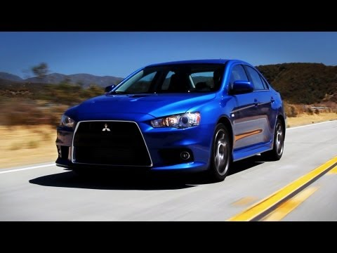 Mitsubishi EVO X MR Car Review
