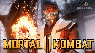 "Mortal Kombat 11: ""Scorpion"" Towers Of Time Gameplay! - Mortal Kombat 11 ""Scorpion"" Gameplay"