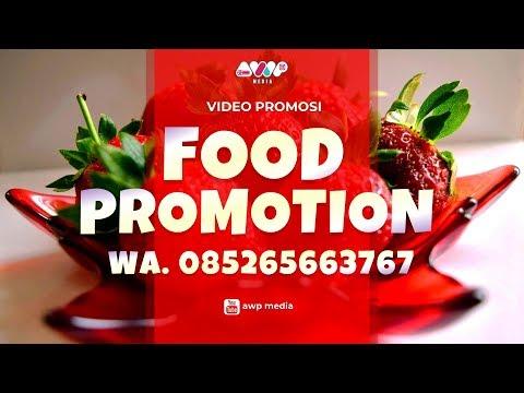 Video Promosi Jasa Makanan