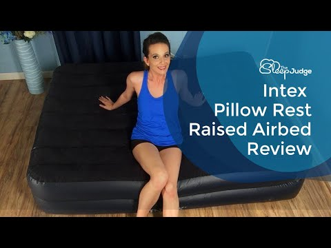Intex Comfort Plush Elevated Dura Beam Airbed Review
