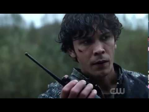 """Bellarke: """"Clarke come in"""" + Bell thought Clarke is dead + Bellamy's Shaking Hands (The 100: 04x06)"""