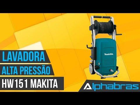 Alphabras - Lavadora de alta pressão Makita HW151