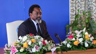 Joseph Kabila répond à la presse après 5 ans de silence