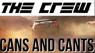 Things you CAN and CAN'T do in THE CREW