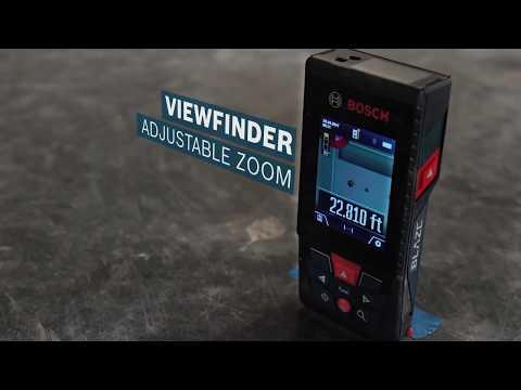 Vidéo de Télémètre laser Lithium-Ion connecté de 400 pi BLAZE™ pour extérieur avec caméra