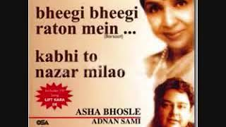 Gambar cover kabhi to nazar milao  adnan sami and ashaji flv