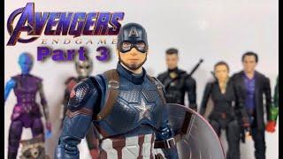 Avengers: Endgame Stop Motion Part 3 (Stop Motion Film Series)