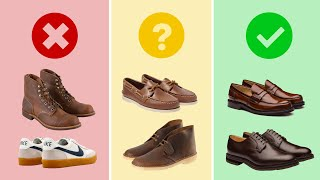 9 Business Casual Shoes For Men | What To Wear To Work