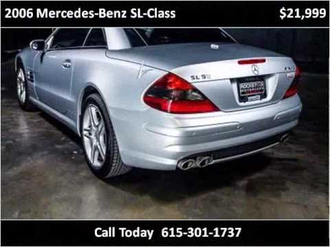 Video of '06 Mercedes-Benz SL-Class - $17,999.00 Offered by Rockstar Motorcars - JJVG
