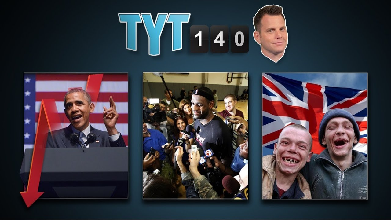 Drones & Planes, Obama Polls, Journalists Jailed & LeBron A Free Agent | TYT140 (June 24, 2014) thumbnail