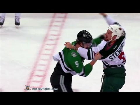 Chris Stewart vs Jamie Oleksiak