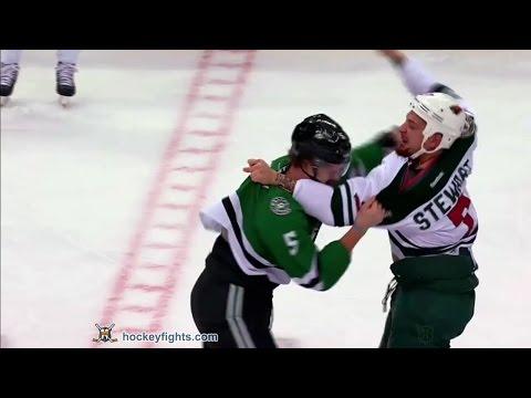Chris Stewart vs Jamie Oleksiak