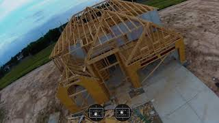 Learning FPV - Session 39 Construction Sunset