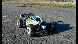Drive review Off Road RC Test WLToys A959-B 70km/H Deutsch -english comment