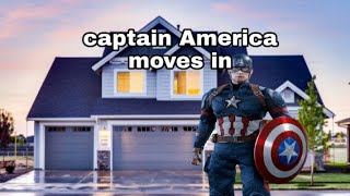 Captain America moves in