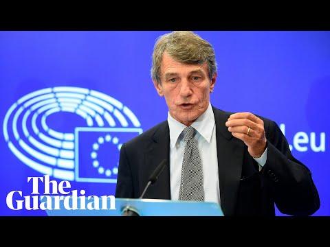Irish backstop: UK offers no 'credible' alternatives, says EU parliament chief