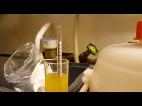 Apfel-Wein selber machen #02 | Gärverlauf beobachten, Oechsle messen