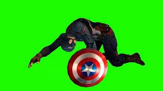 animations mega pack of captain america chroma