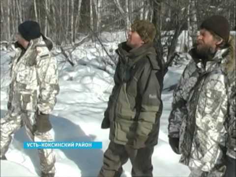 Антибраконьерский рейд в Усть-Коксинском районе(2013)