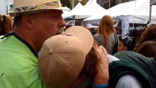 preview picture of video 'Morristown Festival on the Green 2013 - Street Hypnotist'