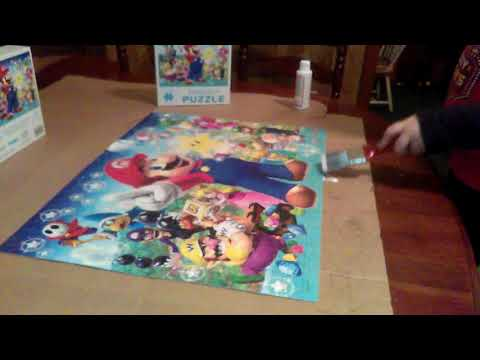 Download Mod Podge Vs Puzzle Glue Video 3GP Mp4 FLV HD Mp3 Download