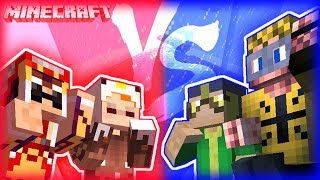 【Minecraft】雙人原味生存番外篇- 雙人V.S.雙人!我們也有工具人?!【咕雞酋長】