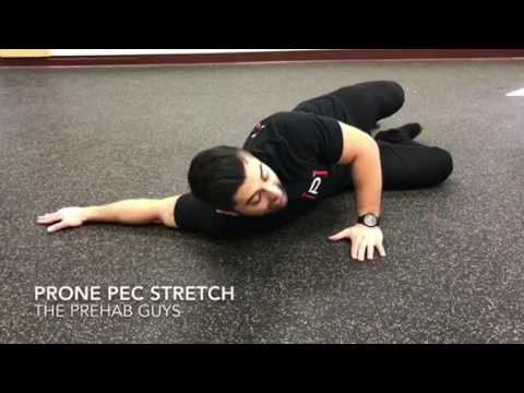 Prone Chest Stretch