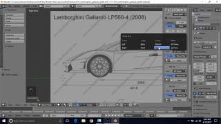 Blender tutorial build a motobike part37 most popular videos model a lamborghini gallardo lp560 4 in blender tutorial part 1 blueprint setup malvernweather Gallery