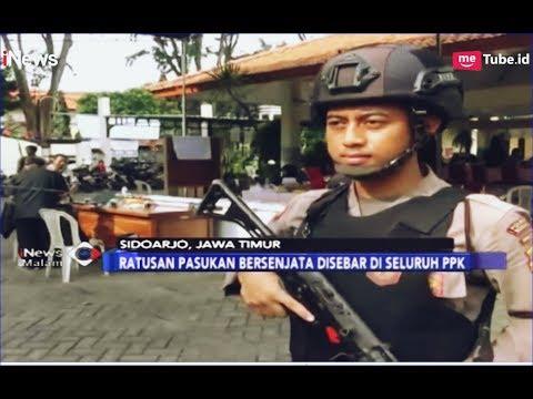 Setiap PPK di Surabaya Dijaga Ketat Personel Bersenjata Lengkap - iNews Malam 20/04