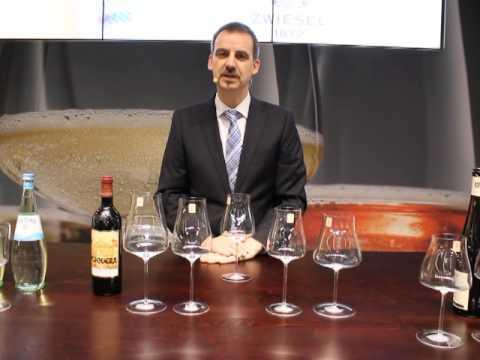 Alexander Kohnen und ZWIESEL KRISTALLGLAS präsentieren: WINE CLASSICS Rotweingläser