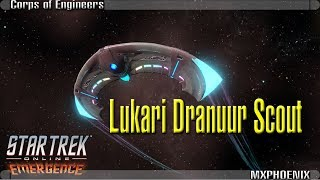 Lukari Dranuur Scout Ship [T6] | Starfleet Corps of Engineers Intel | Star Trek Online