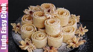 ХВОРОСТ ХРУСТЯЩИЙ НЕЖНЫЙ ПРОСТО ВКУСНОТИЩА - ФИГУРНЫЙ ХВОРОСТ   Brushwood Biscuits Recipe