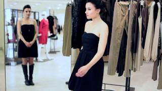 Geri Hirsch Transforms The Everyday Black Dress